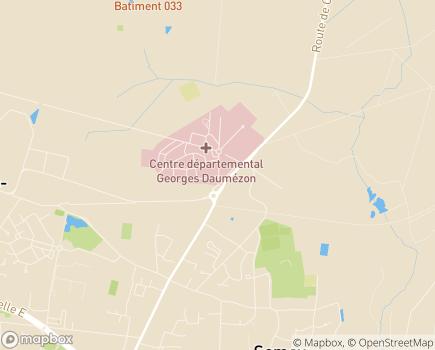Localisation Centre Psychiatrique d'Accueil d'Urgence - 45400 - Fleury-les-Aubrais