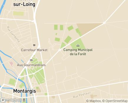 Localisation EHPAD Résidence La Boisserie - 45200 - Montargis