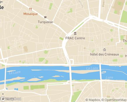 Localisation Azaé Orléans - 45000 - Orléans