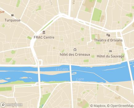 Localisation Vivaservices - 45000 - Orléans