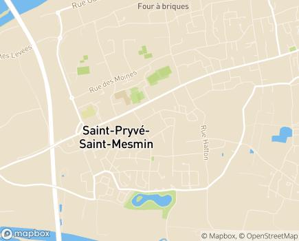 Localisation Emera - Résidence Séniors Lac de Saint-Pryvé - 45750 - Saint-Pryvé-Saint-Mesmin