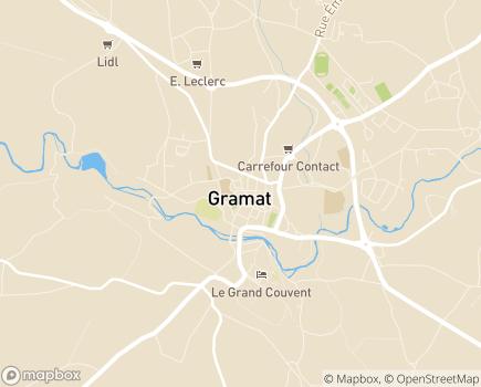 Localisation Résidence Autonomie Georges Pompidou Foyer Logement - 46500 - Gramat