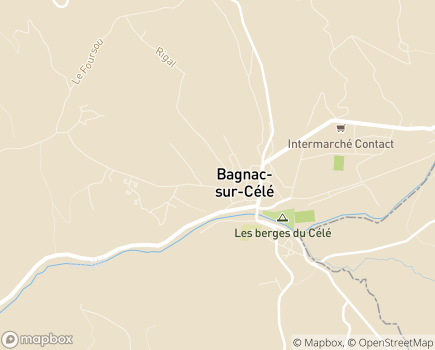 Localisation EHPAD Val du Cele - 46270 - Montredon