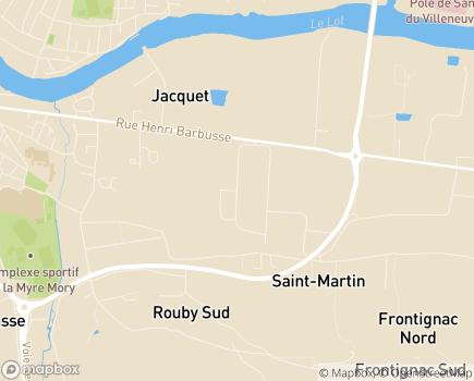 Localisation AURAD Aquitaine - 47300 - Villeneuve-sur-Lot