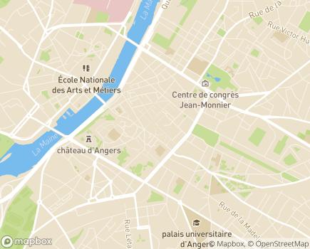 Localisation Département de Maine-et-Loire - 49941 - Angers