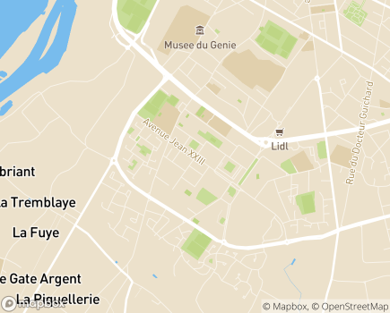 Localisation France Alzheimer 49 - 49100 - Angers