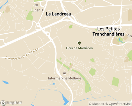 Localisation Mutualité Sociale Agricole - 49938 - Angers