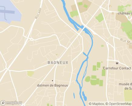 Localisation Emera - EHPAD Sainte-Anne - 49400 - Bagneux