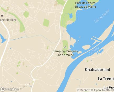 Localisation Emera - EHPAD Lac de Maine - 49080 - Bouchemaine
