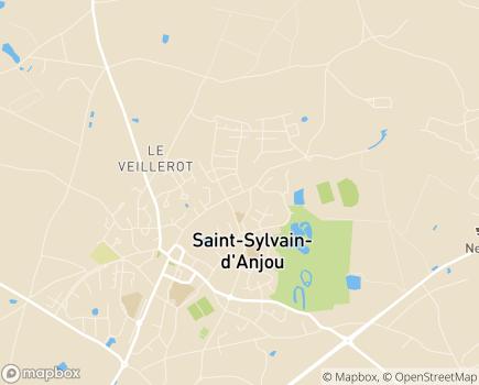 Localisation Centre Communal d'Action Sociale - 49480 - Verrières-en-Anjou