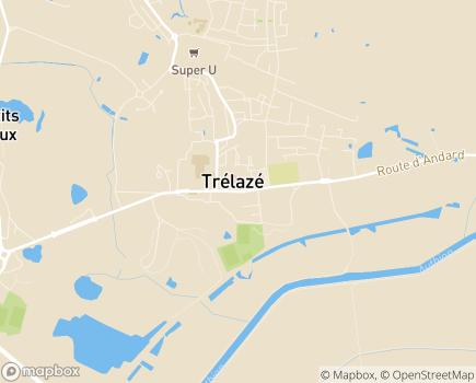 Localisation Centre Communal d'Action Sociale - 49801 - Trélazé