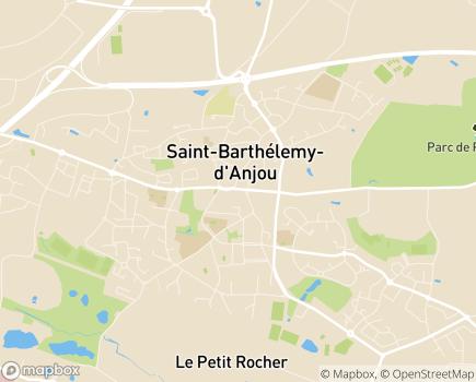 Localisation Centre Communal d'Action Sociale - Village Pierre Rabhi - 49180 - Saint-Barthélemy-d'Anjou