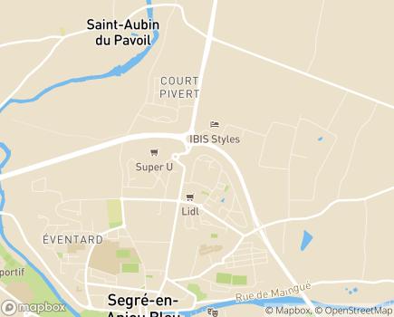 Localisation Résidence avec Services Les Girandières - 49240 - Avrillé