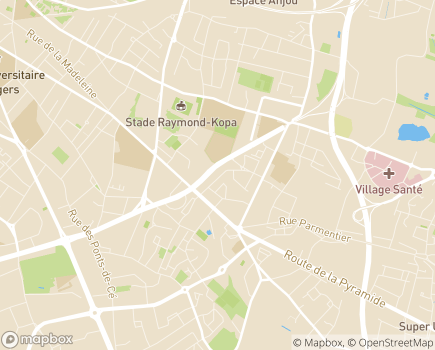 Localisation Maintien ADOM Angers (B.A. Services) - 49000 - Angers