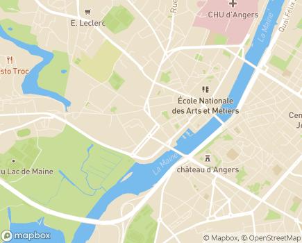 Localisation Seniors Services - 49000 - Angers