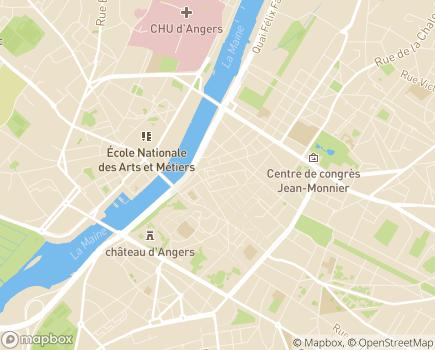 Localisation ADMR L'Angevine - 49000 - Angers