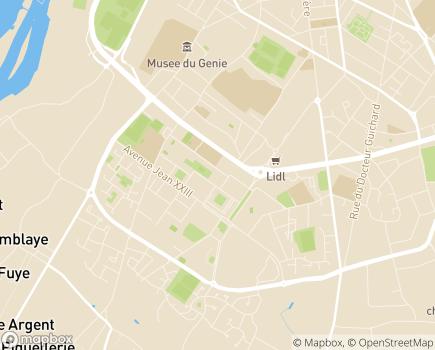 Localisation ASAP - Association de Services et d'Aide à la Personne - 49000 - Angers