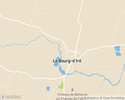 Localisation Domicile partagé pour seniors - 49520 - Le Bourg-d'Iré