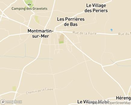 Localisation Colisée - Résidence Roche Brune - 50590 - Montmartin-sur-Mer