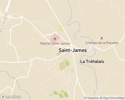 Localisation Domitys Le Pupitre d'Or - Résidence avec services - 50240 - Saint-James