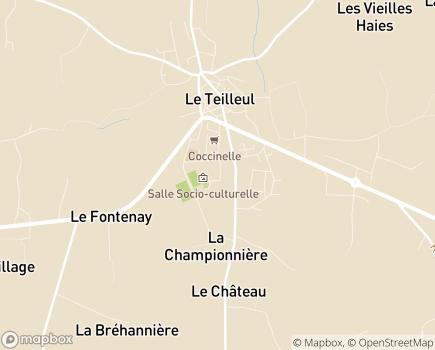 Localisation Korian Rive de Sélune - 50640 - Le Teilleul
