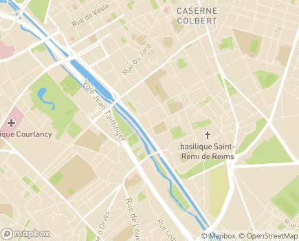 Localisation APF France Handicap Délégation de la Marne - 51100 - Reims