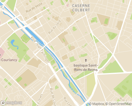 Localisation Caisse Primaire d'Assurance Maladie - 51086 - Reims