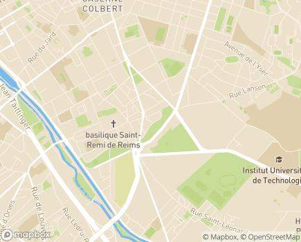 Localisation ASAES 51 - 51100 - Reims