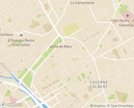 Localisation L'Assurance Maladie, Service Social Nord-Est - 51064 - Reims
