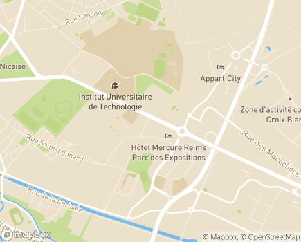 Localisation ADERE Champagne-Ardenne - 51100 - Reims