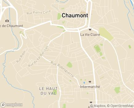 Localisation ADMR de Haute-Marne - 52903 - Chaumont