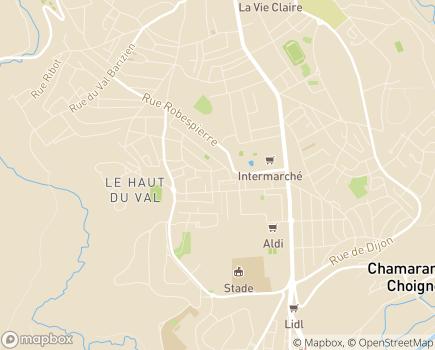Localisation AHMAF - Association Haut-Marnaise pour l'Aide Familiale - 52000 - Chaumont