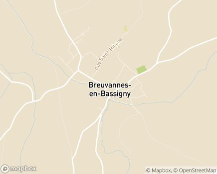 Localisation ESAT Fédération APAJH - 52240 - Breuvannes-en-Bassigny