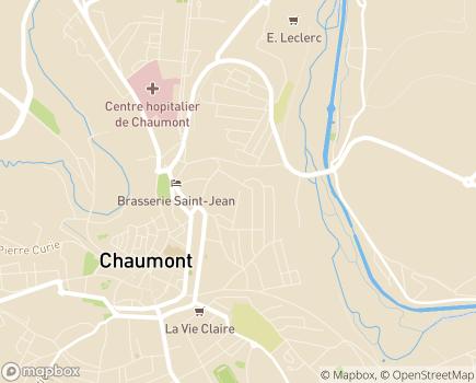 Localisation SAPAD 52 Service d'Aide Pédagogique à Domicile - 52000 - Chaumont