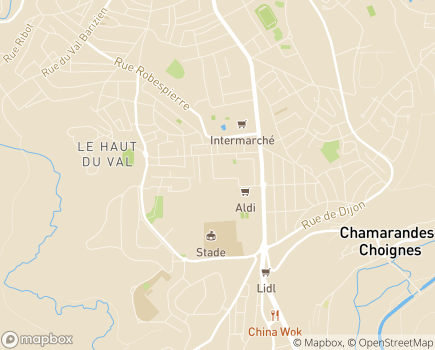 Localisation La Maison de l'Osier Pourpre EHPAD - Adef Résidences - 52000 - Chaumont