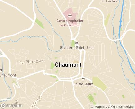 Localisation Présence Verte Sud Champagne - 52000 - Chaumont