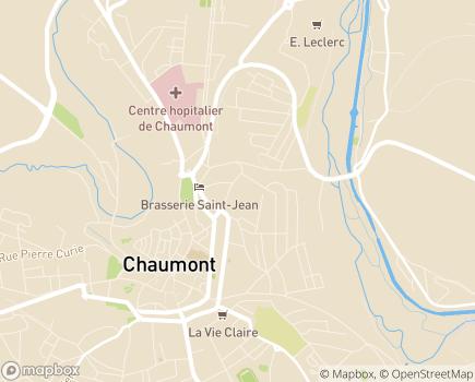 Localisation ADAPAH de Haute Marne - 52000 - Chaumont