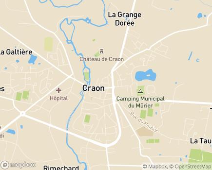 Localisation Résidence avec Services Les Girandières - 53940 - Saint-Berthevin