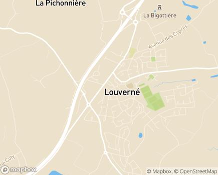 Localisation ADMR de Louverné - 53950 - Louverné
