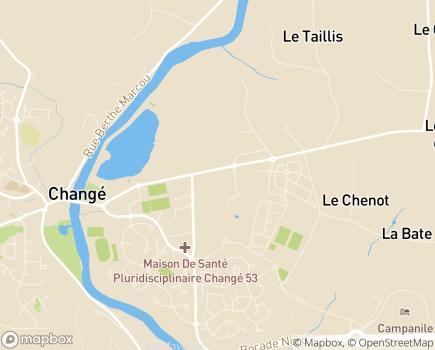 Localisation Maintien ADOM Laval - 53810 - Changé
