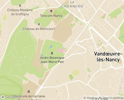 Localisation Clinique Saint-André - Groupe Elsan - 54501 - Vandoeuvre-lès-Nancy