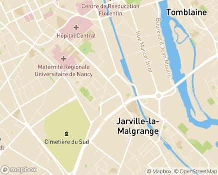 Localisation Médipôle de Gentilly Groupe Elsan - 54000 - Nancy