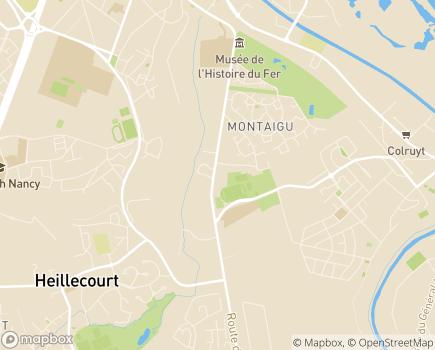 Localisation Korian Le Haut du Bois - 54140 - Jarville-la-Malgrange