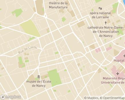 Localisation ADMR Bulle d'Eveil - Multi-accueil (crèche) - 54000 - Nancy