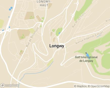 Localisation Domidom Longwy - 54400 - Longwy