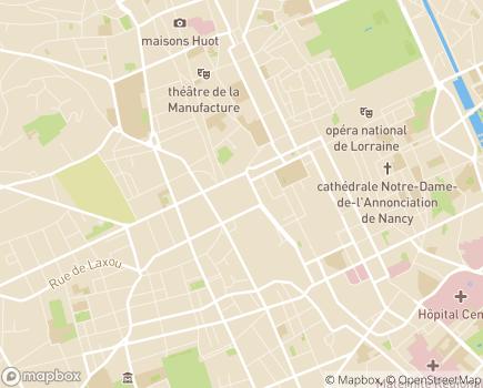 Localisation Aidhom - 54000 - Nancy