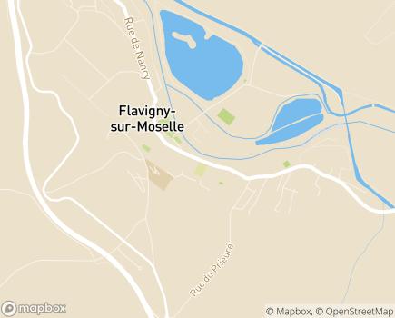 Localisation Institut Régional de Réadaptation (IRR) - Centre de réadaptation pour enfants - 54630 - Flavigny-sur-Moselle