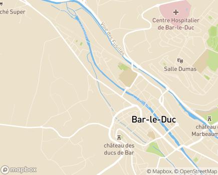 Localisation L'Assurance Retraite Nord-Est - 55000 - Bar-le-Duc