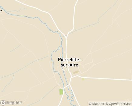 Localisation EHPAD Les Eaux Vives - 55260 - Pierrefitte-sur-Aire