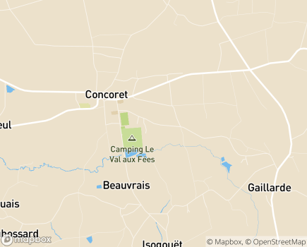 Localisation Centre Communal d'Action Sociale - 56430 - Concoret